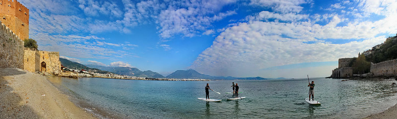 SUP in Alanya