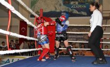 Inter-provincial Hasan Karlı Muay Thai Championship started.